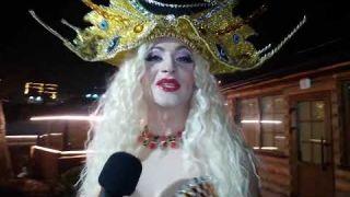 Оля Полякова | Пародист Дима Черников | Новый год 2021 | Ресторан Село і люди | Киев | Шоу пародий