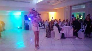 Wedding UA   Пародист Дима Черников- Оля Полякова   Свадьба в Софиевском посаде   Киев   Шоу пародий