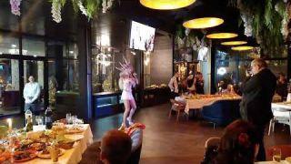 Корпоратив в ресторане Shef| Пародист Дима Черников| Оля Полякова- Эй, секундочку| Шоу пародий| Киев