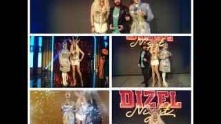 Пародист Дима Черников на съемках Дизель Шоу | Dizel Night | Двойники - Полякова Сердючка Дзидзьо