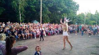 Пародист Дима Черников (Оля Полякова)| Ивана Купала| пгт Врадиевка| Перформанс